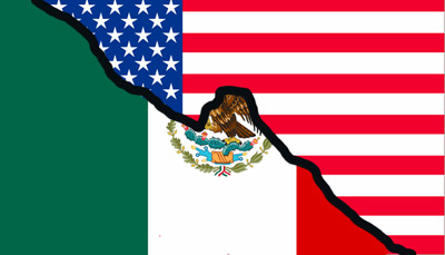 about the u s mexico border